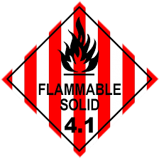 Flammable solid 4.1