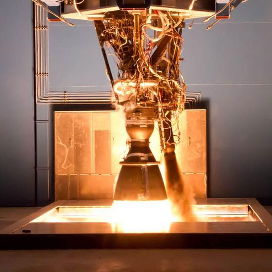 The Space-X Merlin 1D engine uses LOX/RP-1 as its propellant